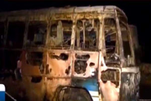 THODUPUZHA, BUS FIRE