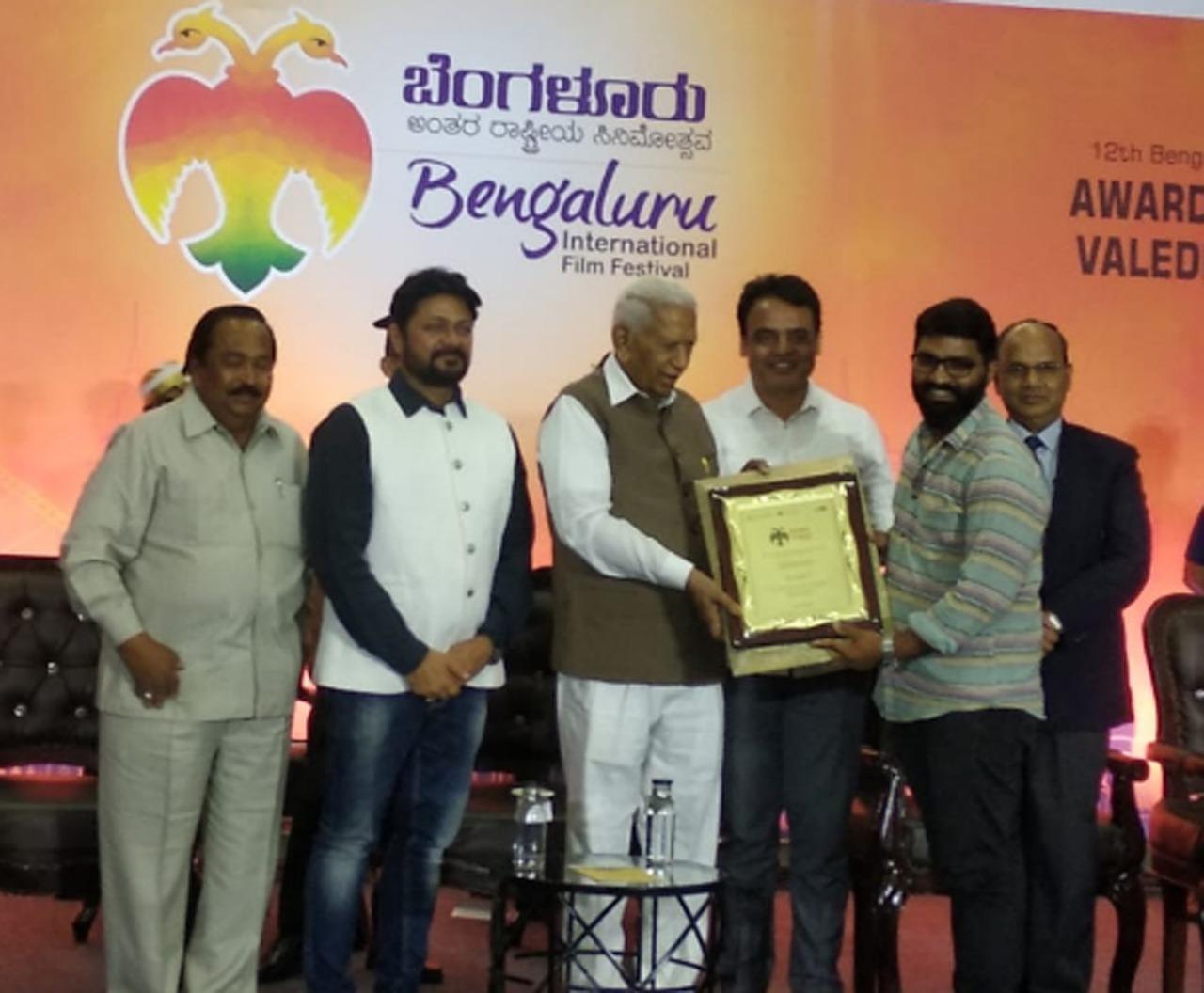 ബാംഗ്ലൂര് അന്താരാഷ്ട്ര ചലച്ചിത്രമേളയില് ബിരിയാണിക്ക് പ്രത്യേക ജൂറി പുരസ്കാരം