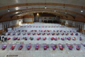 എറണാകുളം ജില്ലയില് 10000 കിടക്കകള് ഉള്ള എഫ്എല്ടിസി സംവിധാനം ഒരുങ്ങുന്നു